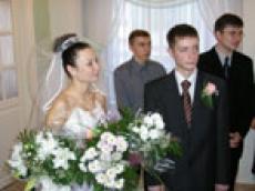 Завтра в Йошкар-олинском Дворце бракосочетаний последний регистрационный день 2006 года