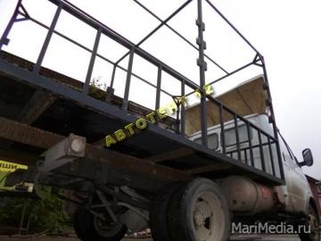 Усиление  грузовых платформ газелей других грузовиков