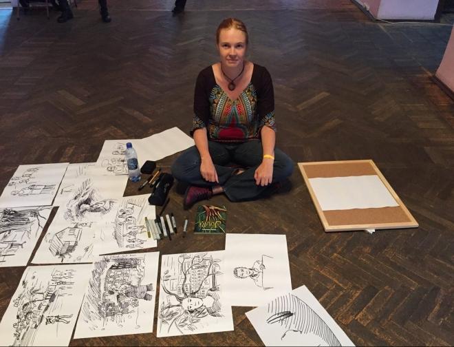 Финская художница научит мариэльцев рисовать комиксы