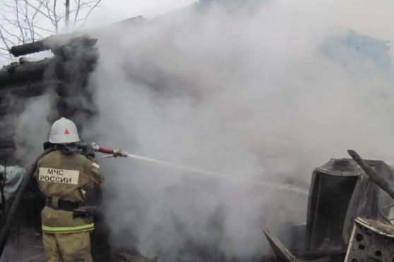 В Гономарийском районе на пожаре погибли женщина и девочка-подросток