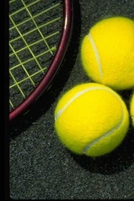 Открытый кубок города по теннису постер