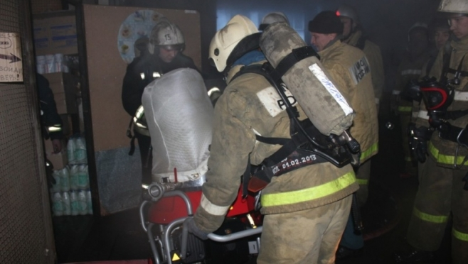 В Йошкар-Оле на пожаре погиб 66-летний мужчина