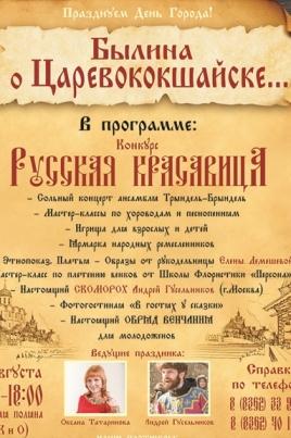 Былина о Царевококшайске постер