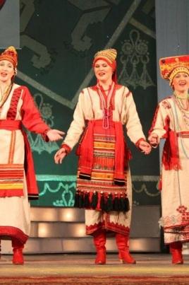 I Международный фестиваль народной хореографии в Марий Эл постер