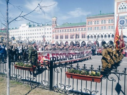 9 Мая в Йошкар-Оле раздадут 4 000 георгиевских лент