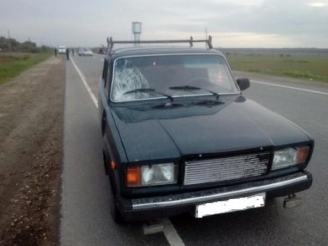 На Сернурском тракте водитель «семёрки» сбил девятилетнего мальчика