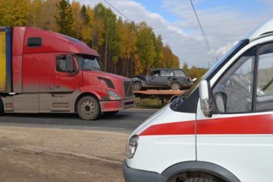 Крупное ДТП в Марий Эл: столкнулись 11 транспортных средств