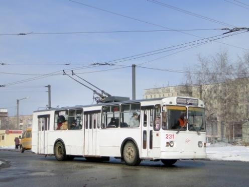 31 декабря троллейбусы сойдут с линии на час раньше