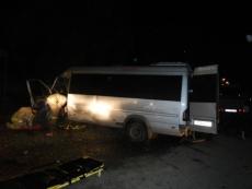 Микроавтобус из Марий Эл попал в ДТП в Костромской области
