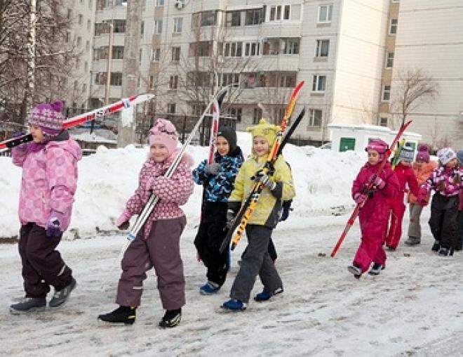 Что одевать ребенку в школу зимой