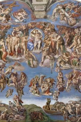 Микеланджело. «Страшный суд» постер