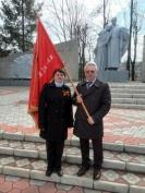 Знамя Победы обошло районы Марий Эл и вернулось в Йошкар-Олу
