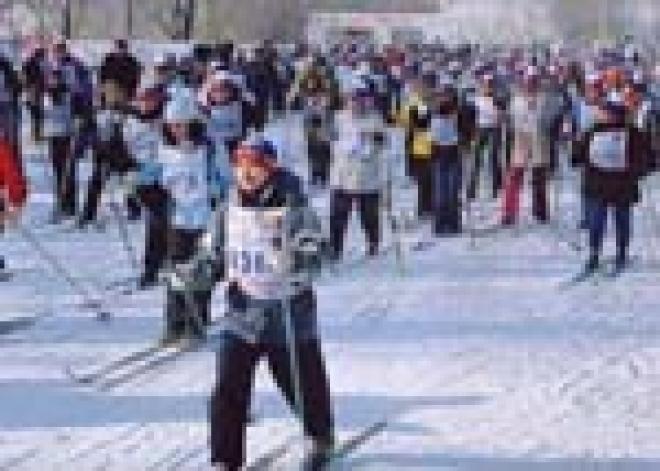 6000 спортсменов приняли участие в «Лыжне Марий Эл-2007»