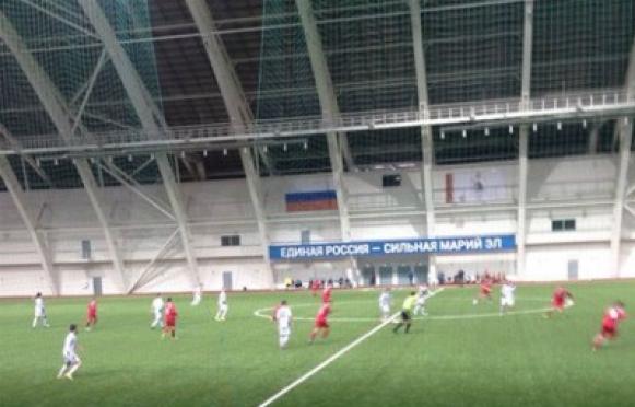 В футбольном матче в Йошкар-Оле зафиксирован хоккейный счет