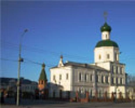 В Йошкар-Оле ограблена церковная лавка Вознесенского собора. Пострадала 24-летняя беременная женщина