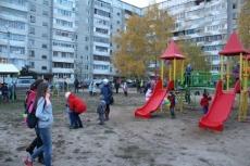 Еще на одну детскую площадку в Йошкар-Оле стало больше
