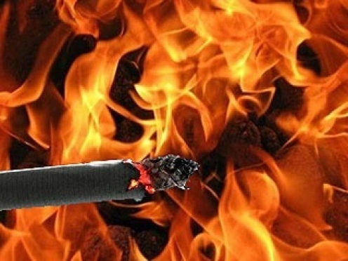 В Сернурском районе сгорел дом, в огне погиб хозяин жилища
