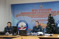 Сотрудники спасательного ведомства готовятся к встрече нового года