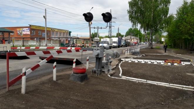 В Йошкар-Оле три дня будут ремонтировать железнодорожный переезд