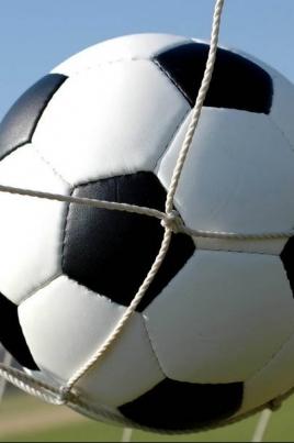 Кожаный мяч постер