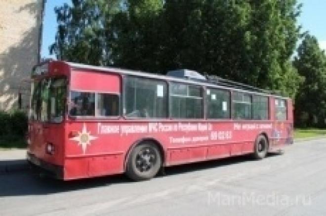 Стоимость проезда в троллейбусах Йошкар-Олы вырастет с 1 сентября