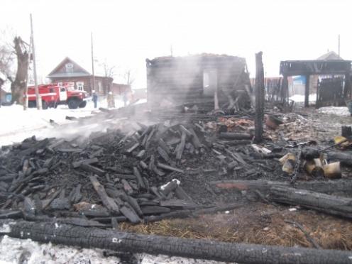 Пьяный житель Моркинского района поджег дом своего отца