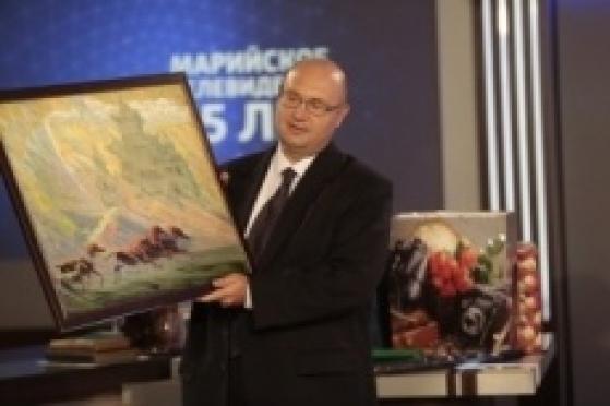 Поздравление директора  ГТРК «Калмыкия» Михаила Ткачёва