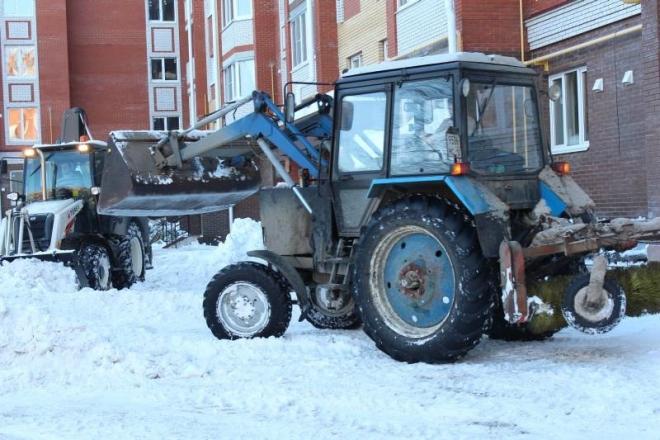 В Йошкар-Оле на снежную свалку вывезено 28 000 кубометров дворового снега