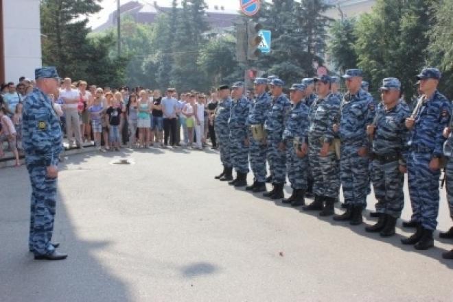 Сводный отряд марийской полиции отправился на Северный Кавказ
