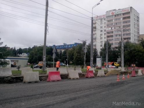 В Йошкар-Оле в выходные дни будет закрыто движение по Центральному мосту