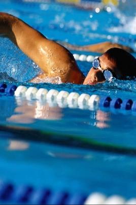 Чемпионат России по плаванию постер