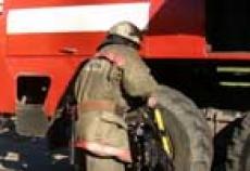 В столице Марий Эл строители устроили пожар на крыше здания банка