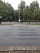 Водитель УАЗа наехал на женщину на пешеходном переходе