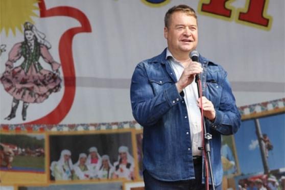 Леонид Маркелов принял участие в праздновании «Сабантуя»