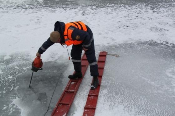 На Волге в акватории Волжска и Звенигово местами открылось течение