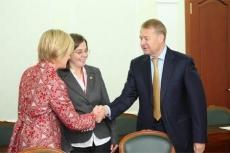 Глава Марий Эл встретился с президентом специальной Олимпиады