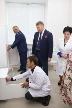 В Килемарском районе открыт первый объект здравоохранения — фельдшерский здравпункт