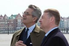 Для посла Италии Глава Марий Эл Леонид Маркелов лично провел экскурсию