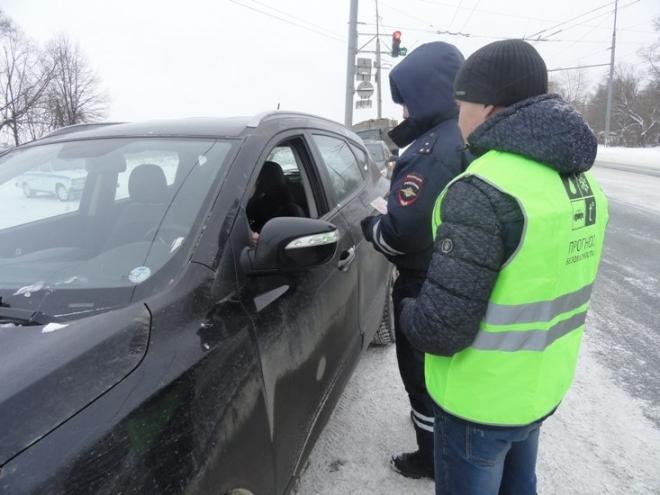 За восемь дней января на дорогах Марий Эл задержано 72 пьяных водителя