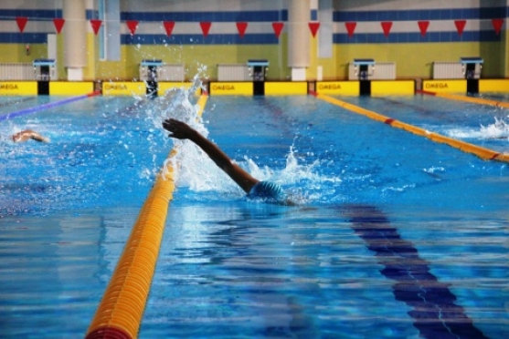 Марийские спасатели стали третьими в Приволжье на соревнованиях по плаванию