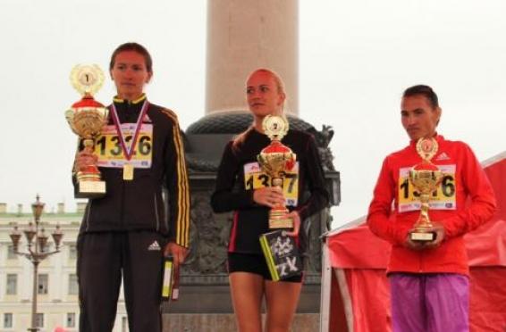 Йошкаролинка стала третьей на международном марафоне