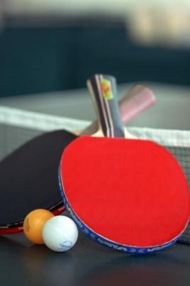 Турнир по настольному теннису постер