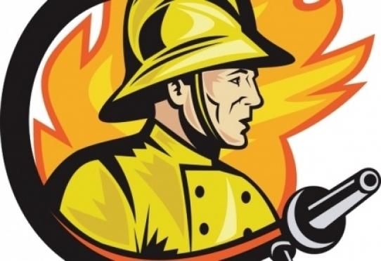 Пожарные-добровольцы в течение января одиннадцать раз помогали тушить пожары