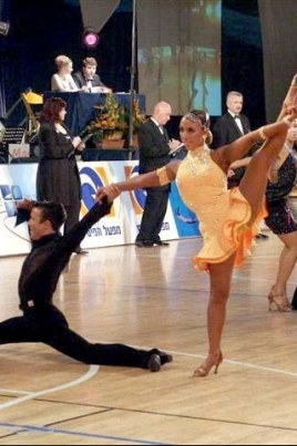 Открытый Чемпионат и первенство Республики Марий Эл по танцевальному спорту постер