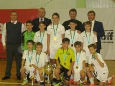 Мини-футбольный «Зеленый ключ» одержал победу в очередном юношеском турнире