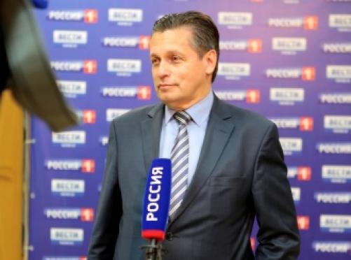 Поздравление заместителя генерального директора ВГТРК, руководителя Регионального департамента ВГТРК Рифата Сабитова