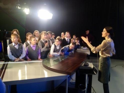 На ГТРК «Марий Эл» состоялась экскурсия для школьников