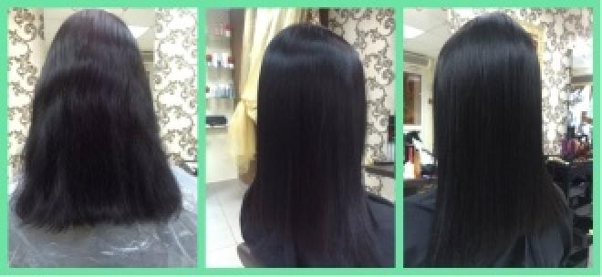 Кератиновое выпрямление волос от Inoar