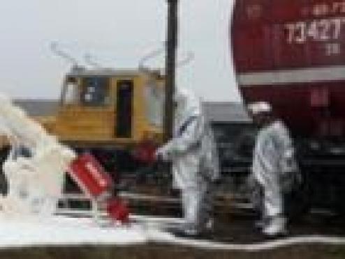 Спасатели Йошкар-Олы сыграли в столкновение поездов