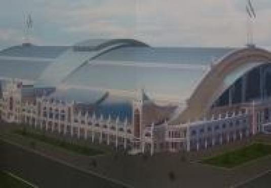 Президент Марий Эл забьет первую сваю футбольно-легкоатлетического манежа